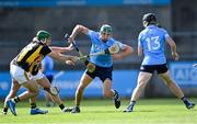 8 May 2021; Chris Crummey of Dublin is tackled by Eoin Cody of Kilkenny during the Allianz Hurling League Division 1 Group B Round 1 match between Dublin and Kilkenny at Parnell Park in Dublin. Photo by Piaras Ó Mídheach/Sportsfile