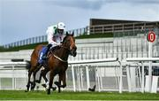 22 May 2021; Pinar Del Rio, with Billy Lee up, cross the line to win the Tally Ho Stud Irish EBF Maiden during day one of the Tattersalls Irish Guineas Festival at The Curragh Racecourse in Kildare. Photo by David Fitzgerald/Sportsfile