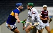 22 May 2021; Eanna Murphy of Galway is tackled by Willie Connors of Tipperary during the Allianz Hurling League Division 1 Group A Round 3 match between Tipperary and Galway at Semple Stadium in Thurles, Tipperary. Photo by Ray McManus/Sportsfile