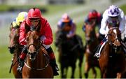 22 May 2021; Castle Star, with Chris Hayes up, second from left, cross the line to win the GAIN Marble Hill Stakes during day one of the Tattersalls Irish Guineas Festival at The Curragh Racecourse in Kildare. Photo by David Fitzgerald/Sportsfile