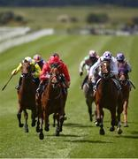 22 May 2021; Castle Star, with Chris Hayes up, second from left, race clear on their way to winning the GAIN Marble Hill Stakes during day one of the Tattersalls Irish Guineas Festival at The Curragh Racecourse in Kildare. Photo by David Fitzgerald/Sportsfile