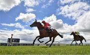 22 May 2021; Castle Star, with Chris Hayes up, left, cross the line to win the GAIN Marble Hill Stakes during day one of the Tattersalls Irish Guineas Festival at The Curragh Racecourse in Kildare. Photo by David Fitzgerald/Sportsfile