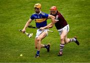 22 May 2021; Barry Heffernan of Tipperary in action against Conor Whelan of Galway during the Allianz Hurling League Division 1 Group A Round 3 match between Tipperary and Galway at Semple Stadium in Thurles, Tipperary. Photo by Ray McManus/Sportsfile