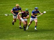 22 May 2021; Brian Concannon of Galway in action against Ronan Maher and Willie Connors of Tipperary during the Allianz Hurling League Division 1 Group A Round 3 match between Tipperary and Galway at Semple Stadium in Thurles, Tipperary. Photo by Ray McManus/Sportsfile