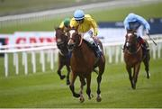 22 May 2021; Epona Plays, with Billy Lee up, centre, on their way to winning the Lanwades Stud Stakes during day one of the Tattersalls Irish Guineas Festival at The Curragh Racecourse in Kildare. Photo by David Fitzgerald/Sportsfile