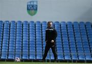 22 May 2021; Peamount United manager James O'Callaghan before the SSE Airtricity Women's National League match between DLR Waves and Peamount United at UCD Bowl in Belfield, Dublin. Photo by Sam Barnes/Sportsfile