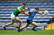 23 May 2021; Con O'Callaghan of Dublin in action against Jason Foley of Kerry during the Allianz Football League Division 1 South Round 2 match between Dublin and Kerry at Semple Stadium in Thurles, Tipperary. Photo by Stephen McCarthy/Sportsfile