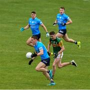 23 May 2021; Con O'Callaghan of Dublin, supported by Conor McHugh and Sean Bugler, races past Ronan Buckley of Kerry during the Allianz Football League Division 1 South Round 2 match between Dublin and Kerry at Semple Stadium in Thurles, Tipperary. Photo by Ray McManus/Sportsfile