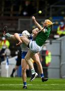 23 May 2021; Richie English of Limerick in action against Jack Fagan of Waterford during the Allianz Hurling League Division 1 Group A Round 3 match between Waterford and Limerick at Walsh Park in Waterford. Photo by Sam Barnes/Sportsfile