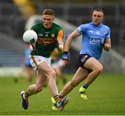 23 May 2021; Jason Foley of Kerry in action against Paddy Small of Dublin during the Allianz Football League Division 1 South Round 2 match between Dublin and Kerry at Semple Stadium in Thurles, Tipperary. Photo by Ray McManus/Sportsfile