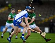 23 May 2021; Kieran Bennett of Waterford in action against Darragh O'Donovan of Limerick during the Allianz Hurling League Division 1 Group A Round 3 match between Waterford and Limerick at Walsh Park in Waterford. Photo by Sam Barnes/Sportsfile