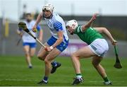 23 May 2021; Jack Fagan of Waterford in action against Kyle Hayes of Limerick during the Allianz Hurling League Division 1 Group A Round 3 match between Waterford and Limerick at Walsh Park in Waterford. Photo by Sam Barnes/Sportsfile