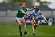 23 May 2021; Barry Nash of Limerick in action against Jamie Barron of Waterford during the Allianz Hurling League Division 1 Group A Round 3 match between Waterford and Limerick at Walsh Park in Waterford. Photo by Sam Barnes/Sportsfile