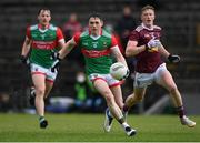 22 May 2021; Paddy Durcan of Mayo during the Allianz Football League Division 2 North Round 2 match between Westmeath and Mayo at TEG Cusack Park in Mullingar, Westmeath. Photo by Stephen McCarthy/Sportsfile