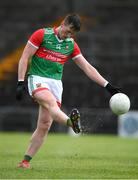 22 May 2021; Cillian O'Connor of Mayo during the Allianz Football League Division 2 North Round 2 match between Westmeath and Mayo at TEG Cusack Park in Mullingar, Westmeath. Photo by Stephen McCarthy/Sportsfile