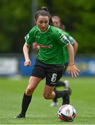 22 May 2021; Sabhdh Doyle of Peamount United during the SSE Airtricity Women's National League match between DLR Waves and Peamount United at UCD Bowl in Belfield, Dublin. Photo by Sam Barnes/Sportsfile