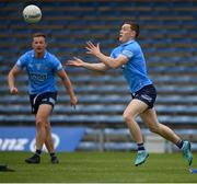 23 May 2021; Con O'Callaghan and Ciaran Kilkenny, left, of Dublin during the Allianz Football League Division 1 South Round 2 match between Dublin and Kerry at Semple Stadium in Thurles, Tipperary. Photo by Stephen McCarthy/Sportsfile