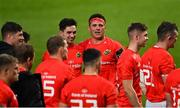 28 May 2021; CJ Stander of Munster with his team-mates after their win in the Guinness PRO14 Rainbow Cup match between Munster and Cardiff Blues at Thomond Park in Limerick. Photo by Piaras Ó Mídheach/Sportsfile