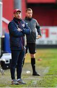 28 May 2021; St Patrick's Athletic head coach Stephen O'Donnell during the SSE Airtricity League Premier Division match between St Patrick's Athletic and Dundalk at Richmond Park in Dublin. Photo by Seb Daly/Sportsfile