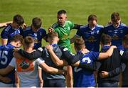 29 May 2021; Raymond Galligan of Cavan speaks to his team-mates after the Allianz Football League Division 3 North Round 3 match between Cavan and Derry at Kingspan Breffni in Cavan. Photo by Harry Murphy/Sportsfile