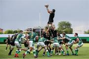 29 May 2021; Ultan Dillane of Connacht claims possession in a line out during the Guinness PRO14 Rainbow Cup match between Benetton and Connacht at Stadio di Monigo in Treviso, Italy. Photo by Roberto Bregani/Sportsfile