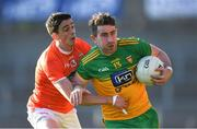 29 May 2021; Paddy McBrearty of Donegal in action against Rory Grugan of Armagh during the Allianz Football League Division 1 North Round 3 match between Armagh and Donegal at the Athletic Grounds in Armagh. Photo by Piaras Ó Mídheach/Sportsfile