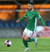28 May 2021; Dylan McGlade of Cork City during the SSE Airtricity League First Division match between Cobh Ramblers and Cork City at St Colman's Park in Cobh, Cork. Photo by Michael P Ryan/Sportsfile