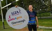 31 May 2021; Glenveagh Homes are the new sponsors of the LGFA's Gaelic4Girls programme. To find out more about Glenveagh Homes, visit https://glenveagh.ie/ . In attendance to mark the announcement at Summerhill GFC in County Meath is Armagh footballer Aimee Mackin. Photo by Harry Murphy/Sportsfile