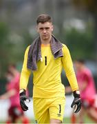 30 May 2021; Republic of Ireland goalkeeper Brian Maher during the U21 international friendly match between Switzerland and Republic of Ireland at Dama de Noche Football Centre in Marbella, Spain. Photo by Stephen McCarthy/Sportsfile