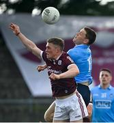 30 May 2021; Con O'Callaghan of Dublin in action against Jack Glynn of Galway during the Allianz Football League Division 1 South Round 3 match between Galway and Dublin at St Jarlath's Park in Tuam, Galway. Photo by Ramsey Cardy/Sportsfile