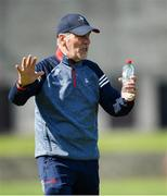 30 May 2021; Louth manager Mickey Harte during the Allianz Football League Division 4 North Round 3 match between Louth and Sligo at Geraldines Club in Haggardstown, Louth. Photo by Seb Daly/Sportsfile