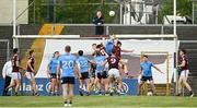 30 May 2021; Brian Fenton of Dublin clears possession from the Dublin goal in the last play of the Allianz Football League Division 1 South Round 3 match between Galway and Dublin at St Jarlath's Park in Tuam, Galway. Photo by Ramsey Cardy/Sportsfile