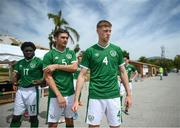 30 May 2021; Mark McGuinness of Republic of Ireland before the U21 international friendly match between Switzerland and Republic of Ireland at Dama de Noche Football Centre in Marbella, Spain. Photo by Stephen McCarthy/Sportsfile