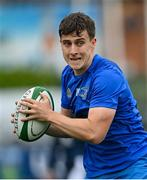 28 May 2021; Tim Corkery of Leinster A prior to the match between Ireland U20 and Leinster A at Energia Park in Dublin. Photo by Ramsey Cardy/Sportsfile