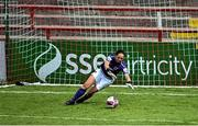 29 May 2021; Wexford Youths goalkeeper Ciamh Gray during the SSE Airtricity Women's National League match between Shelbourne and Wexford Youths at Tolka Park in Dublin. Photo by Piaras Ó Mídheach/Sportsfile