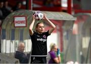 29 May 2021; Lynn Craven of Wexford Youths during the SSE Airtricity Women's National League match between Shelbourne and Wexford Youths at Tolka Park in Dublin. Photo by Piaras Ó Mídheach/Sportsfile