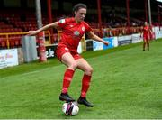 29 May 2021; Jessica Ziu of Shelbourne during the SSE Airtricity Women's National League match between Shelbourne and Wexford Youths at Tolka Park in Dublin. Photo by Piaras Ó Mídheach/Sportsfile