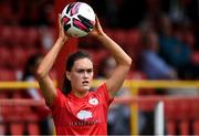 29 May 2021; Jess Gargan of Shelbourne during the SSE Airtricity Women's National League match between Shelbourne and Wexford Youths at Tolka Park in Dublin. Photo by Piaras Ó Mídheach/Sportsfile