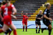 29 May 2021; Noelle Murray of Shelbourne during the SSE Airtricity Women's National League match between Shelbourne and Wexford Youths at Tolka Park in Dublin. Photo by Piaras Ó Mídheach/Sportsfile