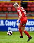 29 May 2021; Saoirse Noonan of Shelbourne during the SSE Airtricity Women's National League match between Shelbourne and Wexford Youths at Tolka Park in Dublin. Photo by Piaras Ó Mídheach/Sportsfile