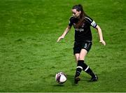 29 May 2021; Lauren Dwyer of Wexford Youths during the SSE Airtricity Women's National League match between Shelbourne and Wexford Youths at Tolka Park in Dublin. Photo by Piaras Ó Mídheach/Sportsfile
