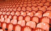 29 May 2021; A general view of seats before the Allianz Football League Division 1 North Round 3 match between Armagh and Donegal at the Athletic Grounds in Armagh. Photo by Piaras Ó Mídheach/Sportsfile