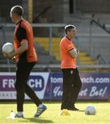 29 May 2021; Armagh manager Kieran McGeeney before the Allianz Football League Division 1 North Round 3 match between Armagh and Donegal at the Athletic Grounds in Armagh. Photo by Piaras Ó Mídheach/Sportsfile