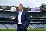 3 June 2021; Sky Sports GAA analyst Kieran Donaghy is pictured at the Sky Sports 2021 Championship launch, where the broadcaster announced their fixtures and an all-star line-up of pundits, commentators and presenters for the season ahead. Sky Sports Arena will be the home of GAA, with a total of 18 fixtures broadcasting on the channel – 12 of which are exclusive to Sky Sports. Photo by Sam Barnes/Sportsfile