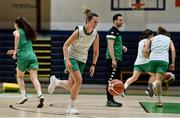 30 May 2021; Mimi Clarke during Ireland's senior women's squad training at the National Basketball Arena, as they prepare for the FIBA European Championship for Small Countries, which takes in Cyprus in July. Photo by Brendan Moran/Sportsfile