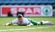 3 June 2021; James Collins of Republic of Ireland reacts after a missed opportunity during the International friendly match between Andorra and Republic of Ireland at Estadi Nacional in Andorra. Photo by Stephen McCarthy/Sportsfile