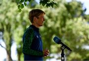 4 June 2021; Republic of Ireland WNT manager Vera Pauw during the Republic of Ireland Women squad announcement at FAI Headquarters in Abbotstown, Dublin. Photo by Eóin Noonan/Sportsfile