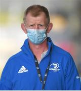4 June 2021; Leinster head coach Leo Cullen before the Guinness PRO14 Rainbow Cup match between Glasgow Warriors and Leinster at Scotstoun Stadium in Glasgow, Scotland. Photo by Ross MacDonald/Sportsfile