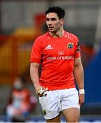 28 May 2021; Joey Carbery of Munster during the Guinness PRO14 Rainbow Cup match between Munster and Cardiff Blues at Thomond Park in Limerick. Photo by Piaras Ó Mídheach/Sportsfile