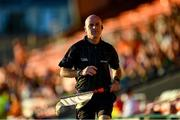 29 May 2021; Linesman Cormac Reilly during the Allianz Football League Division 1 North Round 3 match between Armagh and Donegal at the Athletic Grounds in Armagh. Photo by Piaras Ó Mídheach/Sportsfile